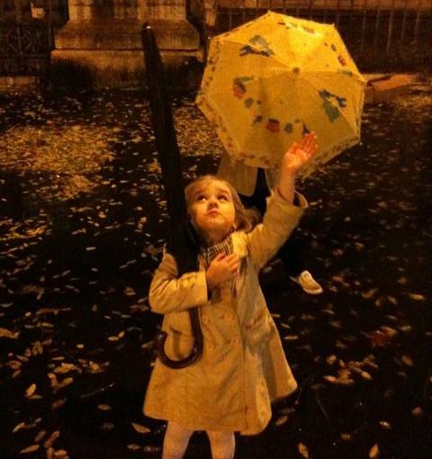 """""""I'm singing in the rain…"""""""