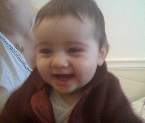 8 mois, 2 dents, 1 en cours, la belle vie !