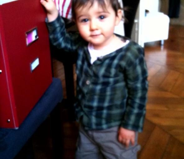 Henry, 14 mois !