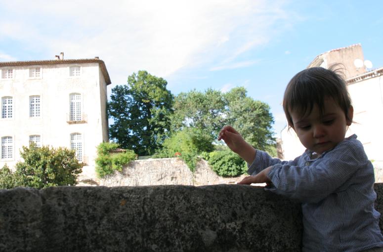 Sinon, jeudi, on a vu un château. Et on est (encore) passé à la télévision