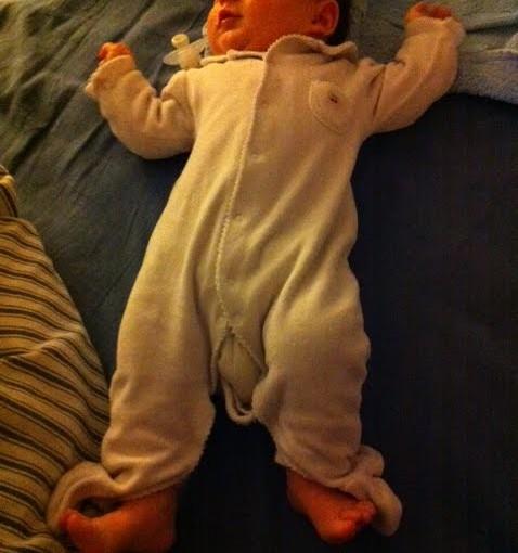 Le Houdini du pyjama !