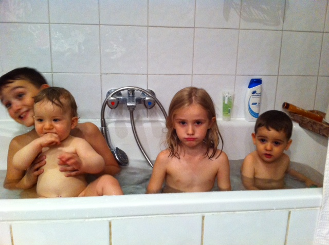 Les bains-douches version familiale