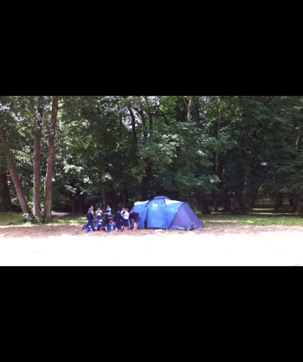 La tente d'intendance