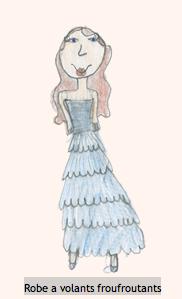 Votez pour le dessin de Violette chez Fashionette !