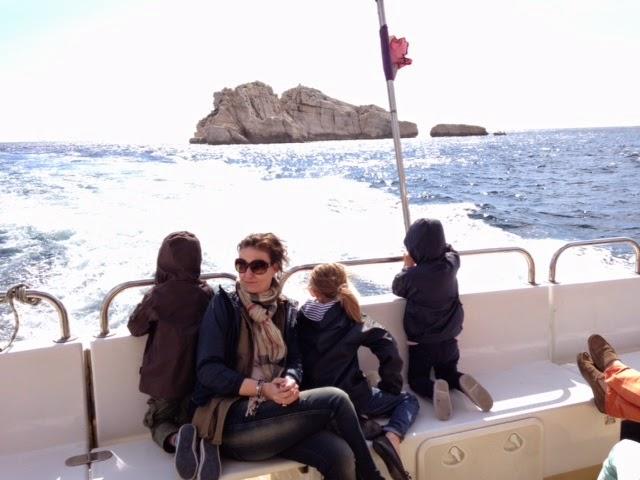 les enfants adôôrent le bateau!!