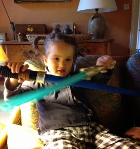 Soeur du Jedi!