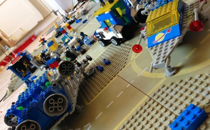 Au fait, à Pâques on a fait du Lego